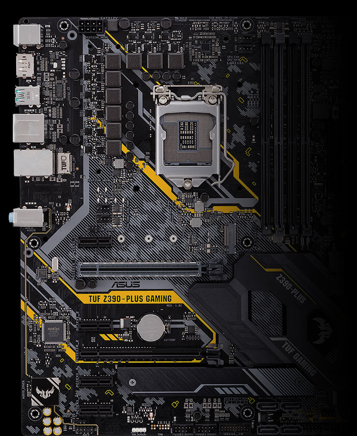 TUF Z390-PLUS GAMING | Motherboards | ASUS Global