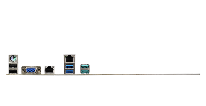 Dual Intel<sup>®</sup> Gigabit Ethernet