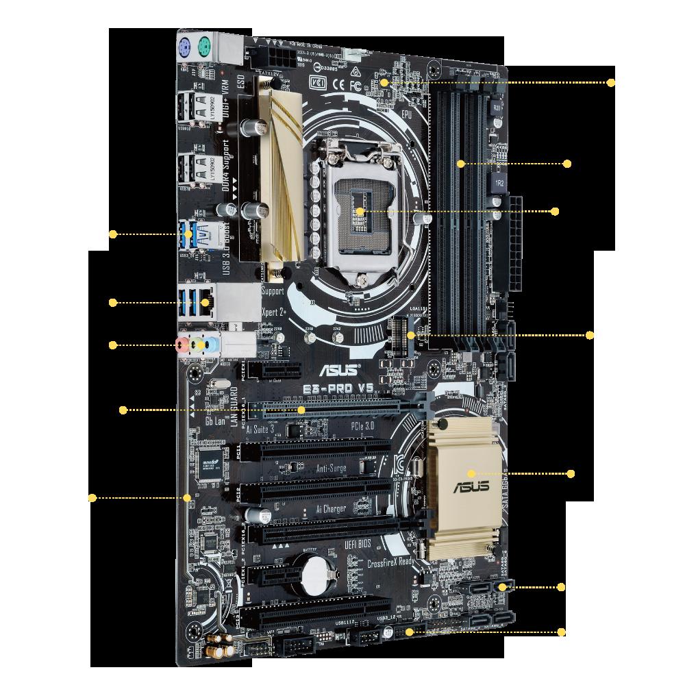 ASUS E3-PRO V5 Drivers PC