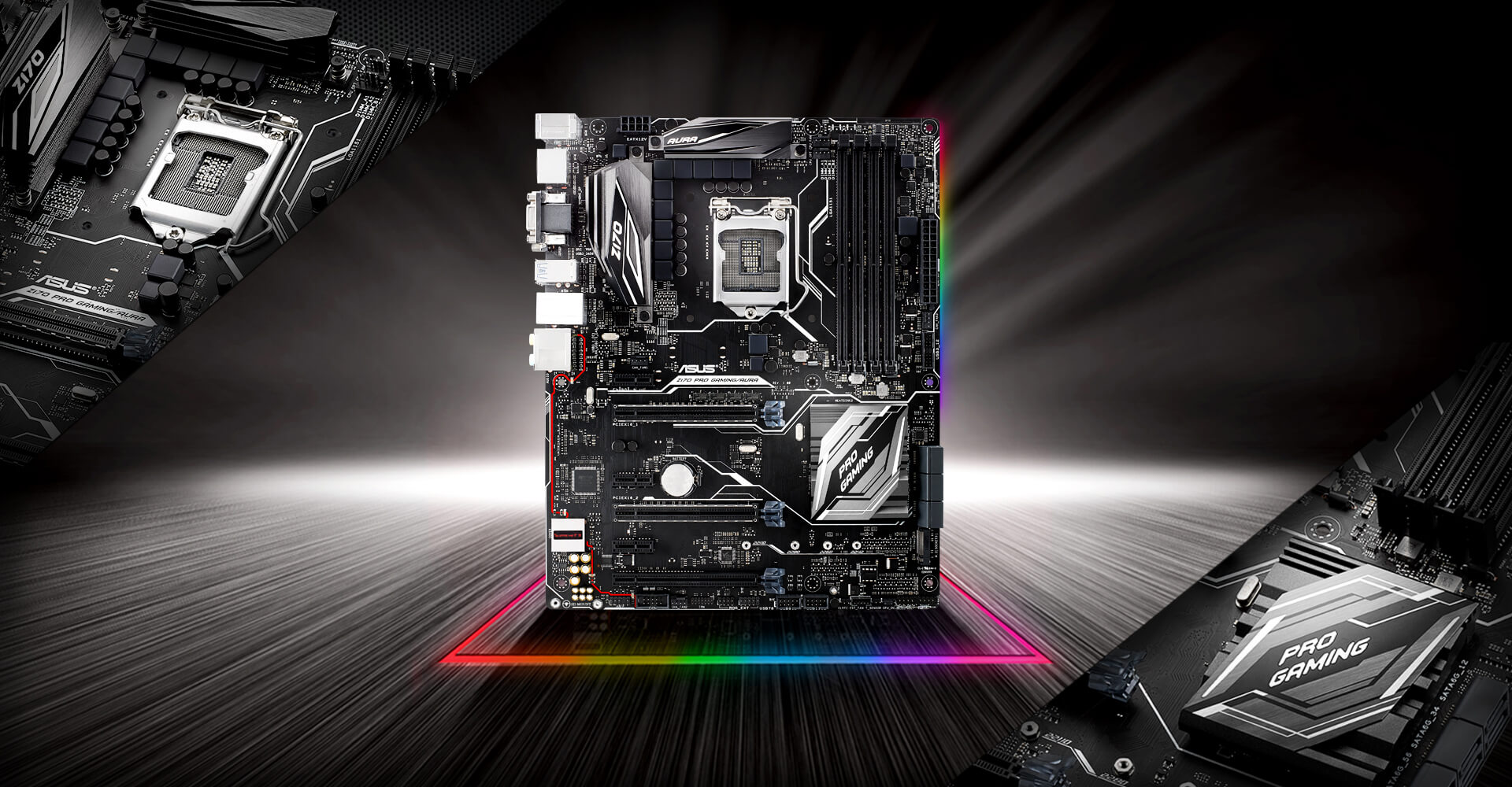 Z170 Pro Gaming Aura Motherboards Asus Usa