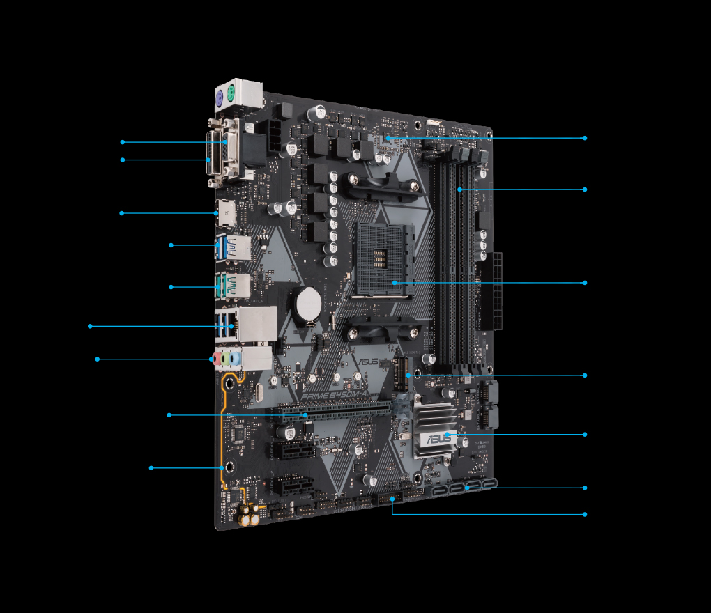 PRIME B450M-A/CSM   Motherboards   ASUS Canada