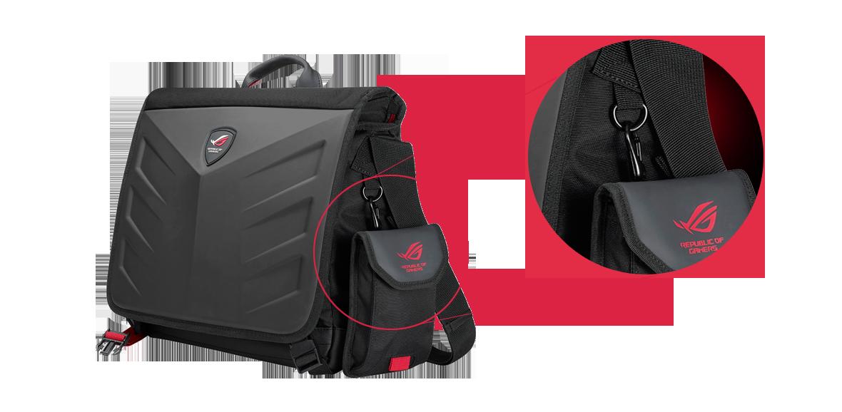 ROG Ranger Messenger | Laptoptáskák | ASUS Magyarország