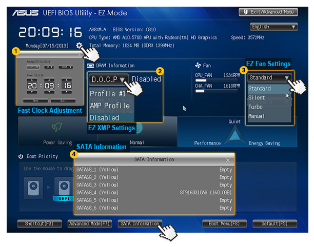 Driver for ASUS A88XM-PLUS AMD AHCI