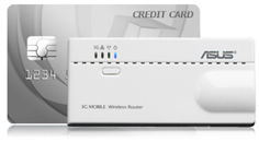 wl-330n3g is smaller than a credit card