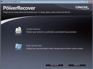 ASUS Power Recovery