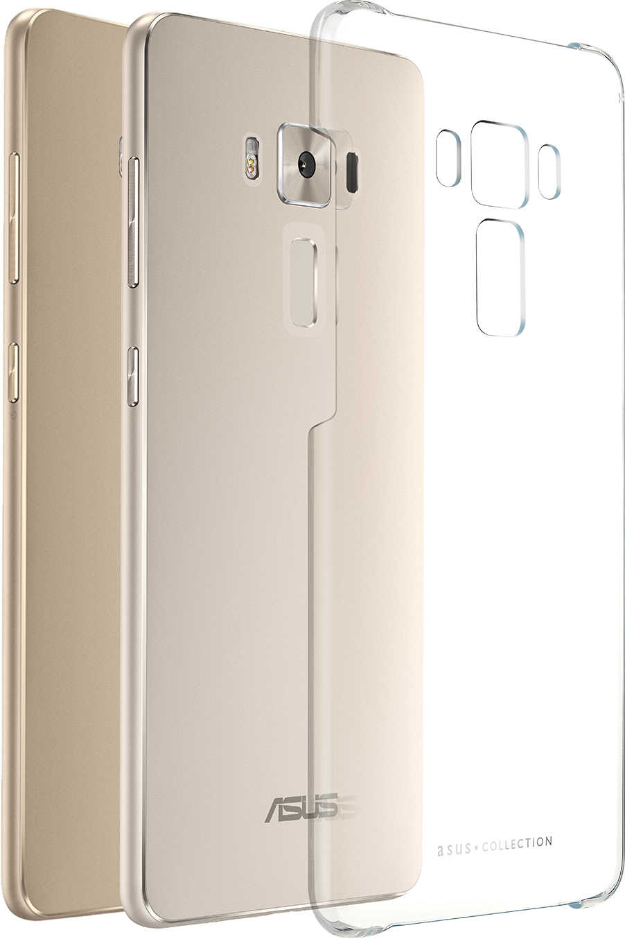 Zenfone 3 Deluxe Clear Case Zs570kl Phone Accessories Asus Precision Molded For The Perfect Fit
