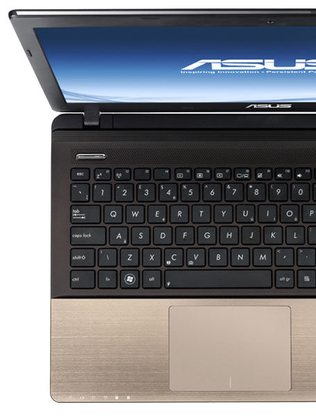 ASUS A55 seires with Palm Proof technology