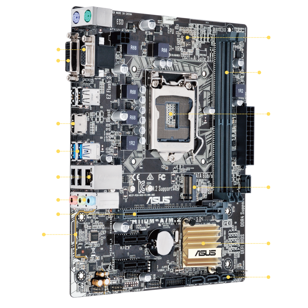 Mainboard H110M-A/M.2 | ASUS