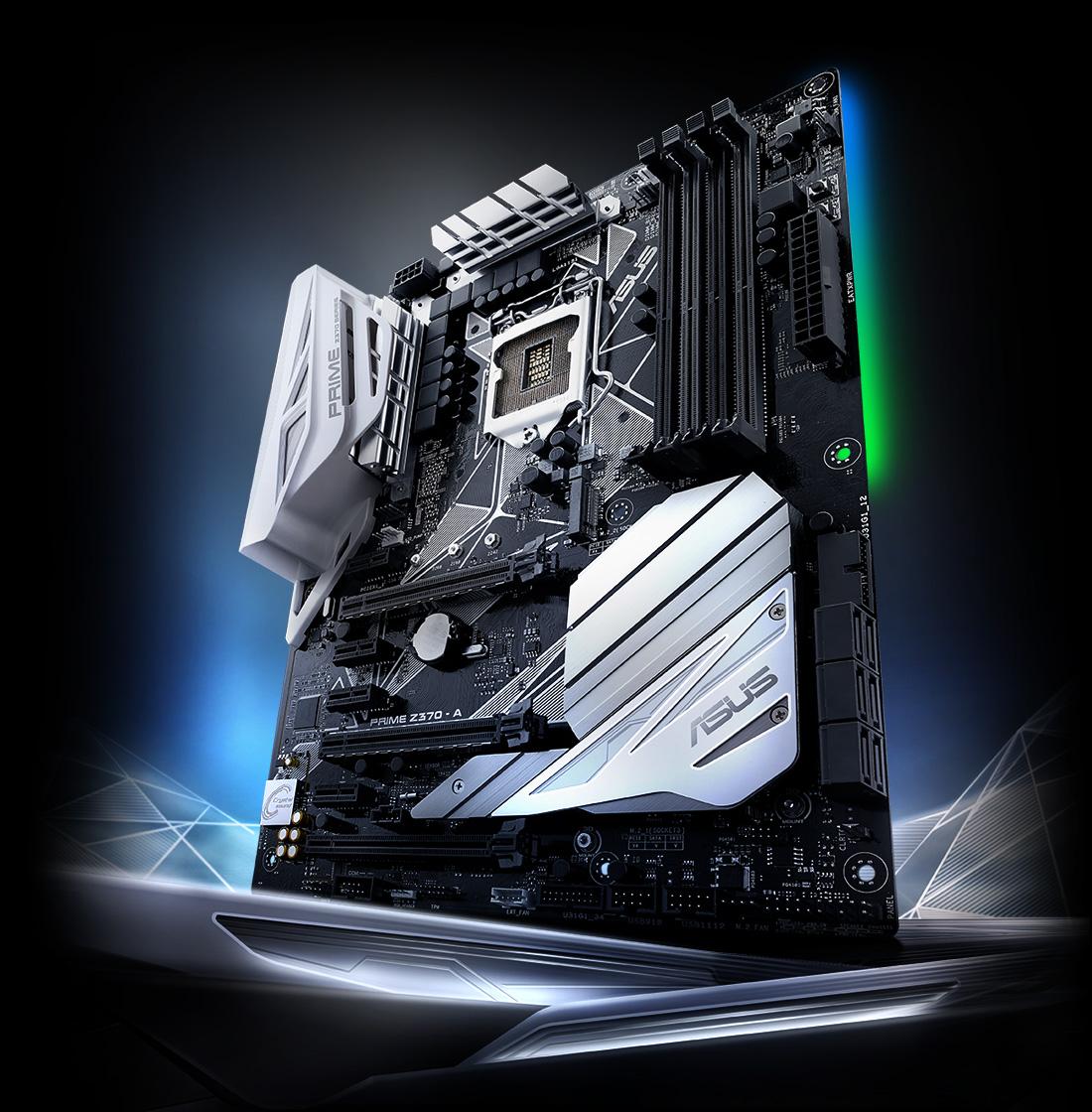Prime Z370 A Motherboards Asus Canada Adjustable Radiator Fan Wiring Diagram Control Flex Cpu Intel Lga 1151 I7 8700k Motherboard Dram Gskill 3333 8g2 Power Corsair Ax1500i Water Cooling H115i Os