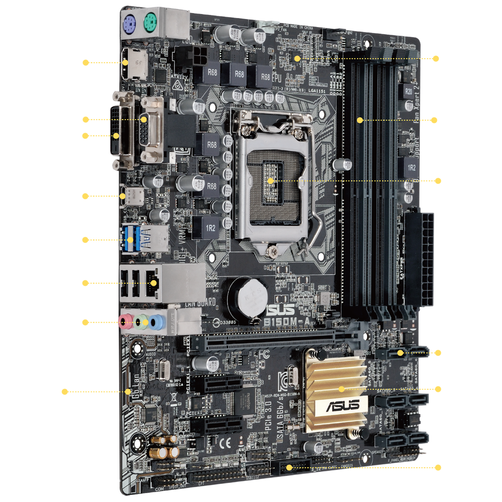 B150m A Motherboards Asus Usa Sata To Usb Plug Wiring Diagram