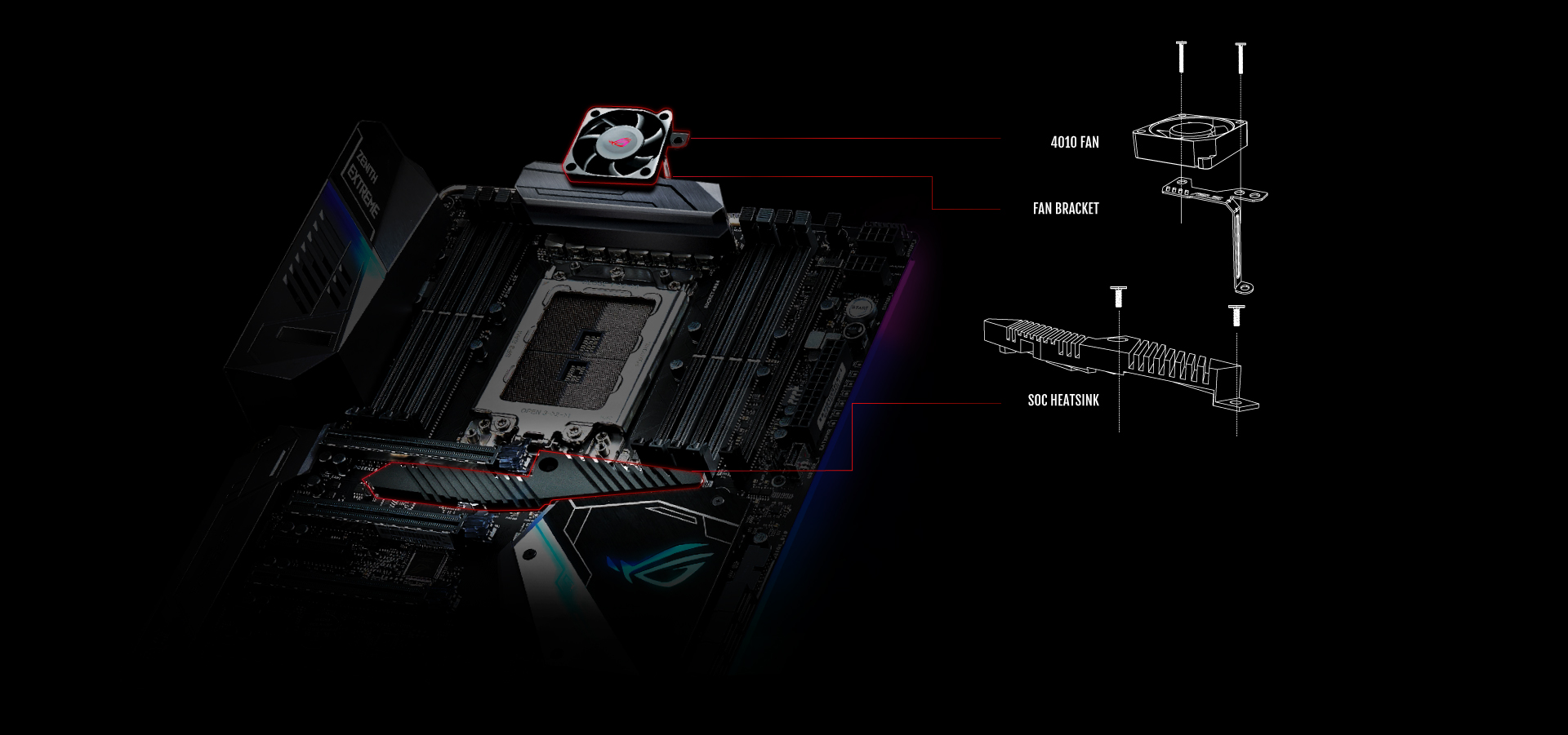 Rog Zenith Extreme Motherboards Asus Global Kato N Scale Printed Circuit Board Pcb Lighting Kit For Up Water Reload With Cooling