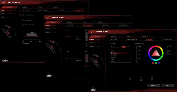 ROG ARMOURY UI