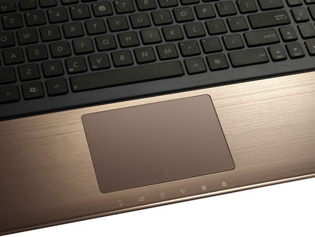 ASUS K75 seires with Palm Proof technology