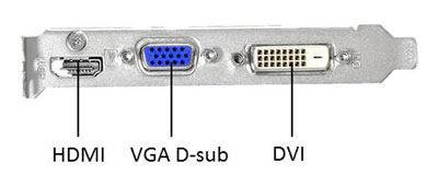 GeForce GTX 650 1GB GDDR5 128bits - HDMI/DVI/VGA -