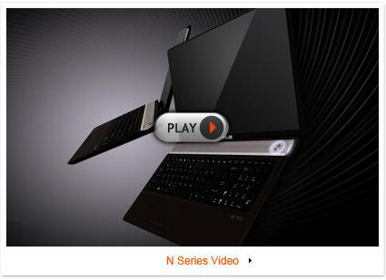 ASUS N Series Notebook - Splendid Super-Sonic Multimedia Enjoyment!