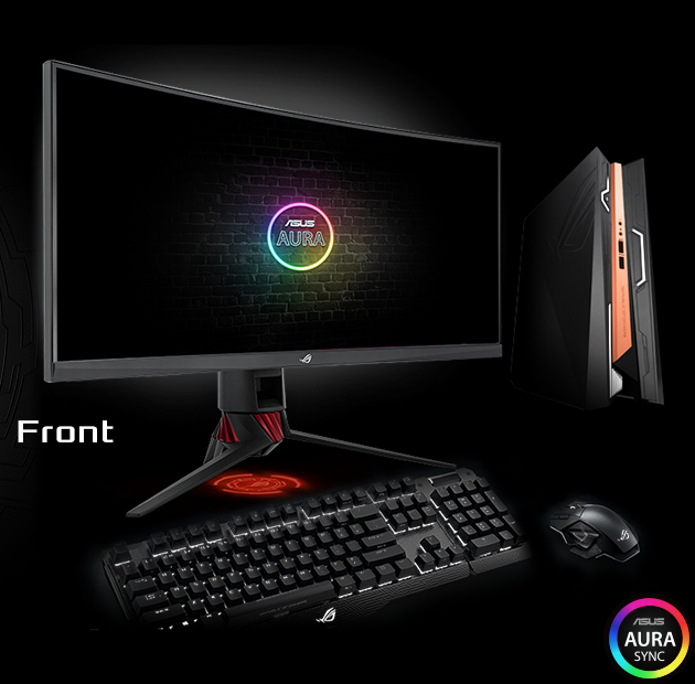 Image result for ROG Strix XG35VQ includes TUV Rheinland-certified ASUS Ultra-low Blue Light filters to prevent eye strain. Select from four different filter settings via the on-screen menu.