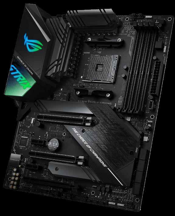 Asus ROG Strix X370-F Gaming Mainboard Sockel AM4 ATX, AMD X370, Ryzen, 4x DDR4 Speicher, USB 3.1, M.2 Schnittstelle