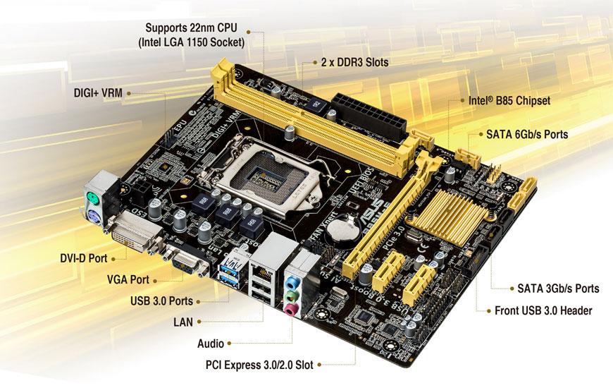 ASUS B85M-F PLUS Intel Graphics Drivers Update