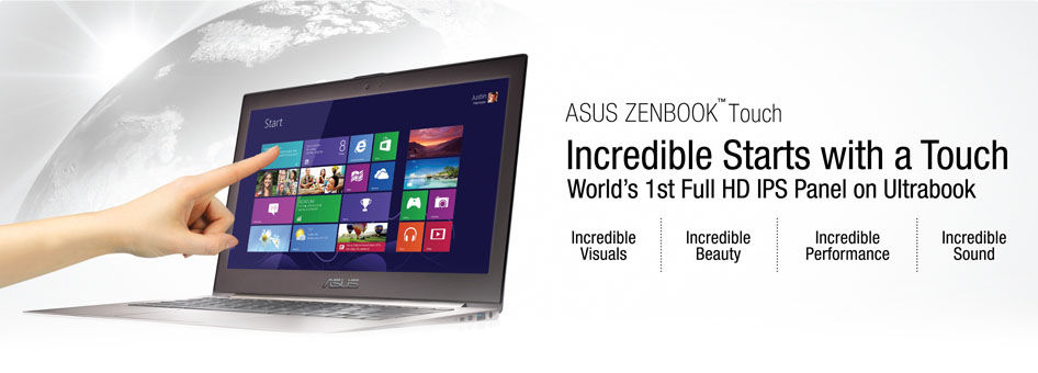 "World's first 13.3"" ultrabook"
