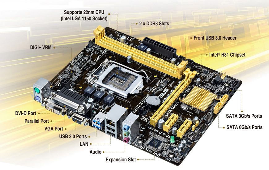 ASUS H81M-D PLUS Realtek HD Audio Driver PC