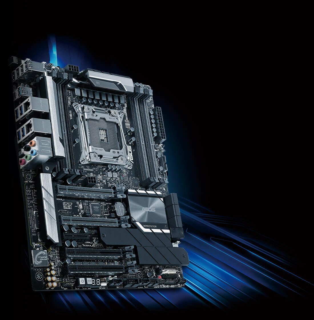 ASUS Intel Core-X WS X299 PRO ATX Workstation Motherboard