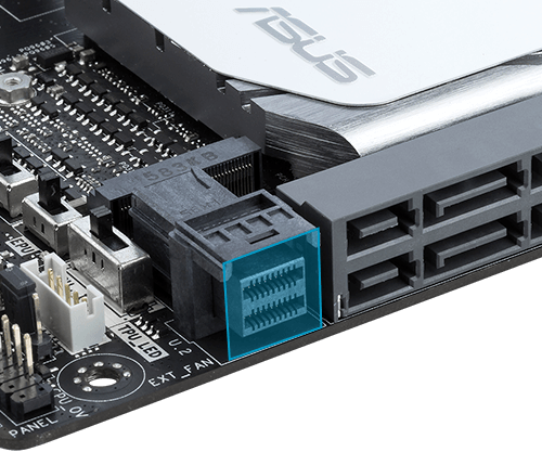 how to connect ssd to asus motherboard