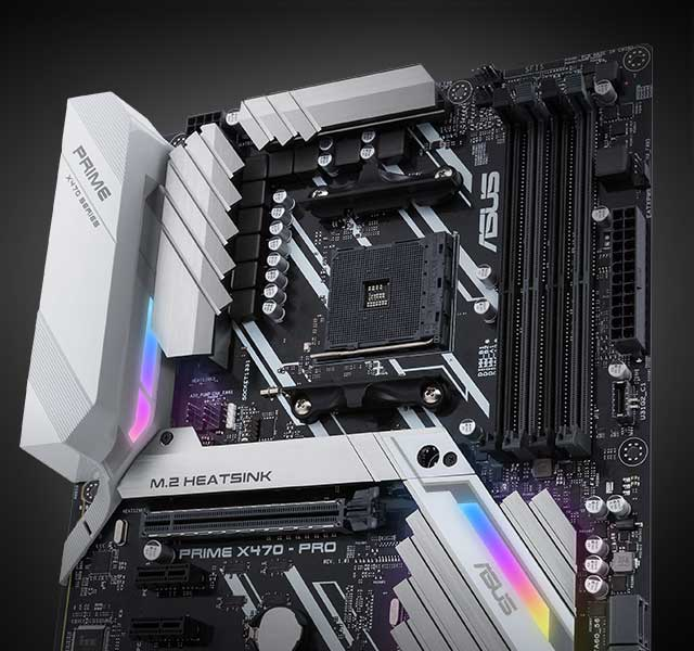 Prime X470 Pro Motherboards Motherboards Components Asus Global