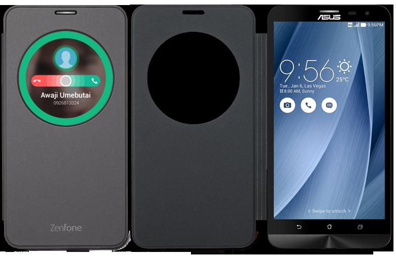 super popular 8a7a2 5dee5 Asus ZenFone 2 Laser View Flip Cover (ZE600KL /ZE601KL)