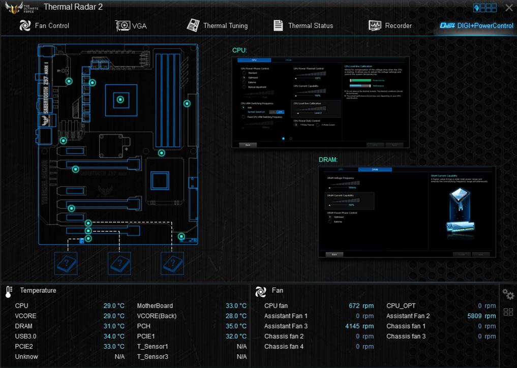 ASUS SABERTOOTH Z97 MARK 2 Turbo LAN Vista
