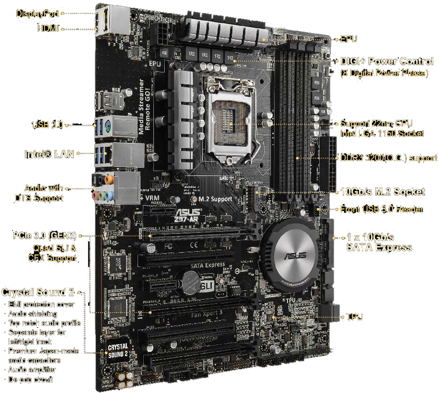 z97 ar motherboards asus global high performance