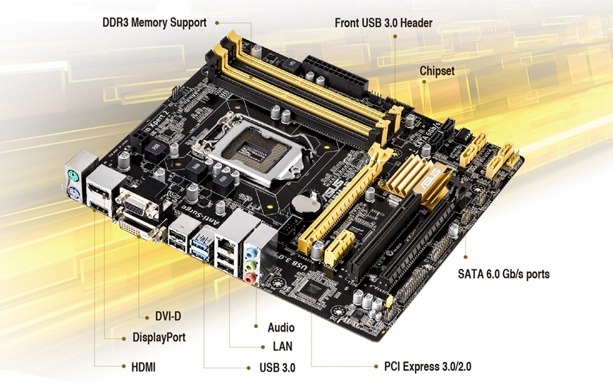 ASUS B85M-C/C/SI Intel LAN Driver Windows