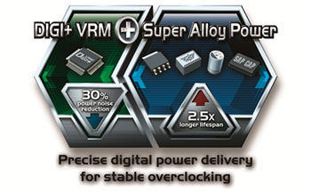 DIGI+VRM with Super Alloy Power