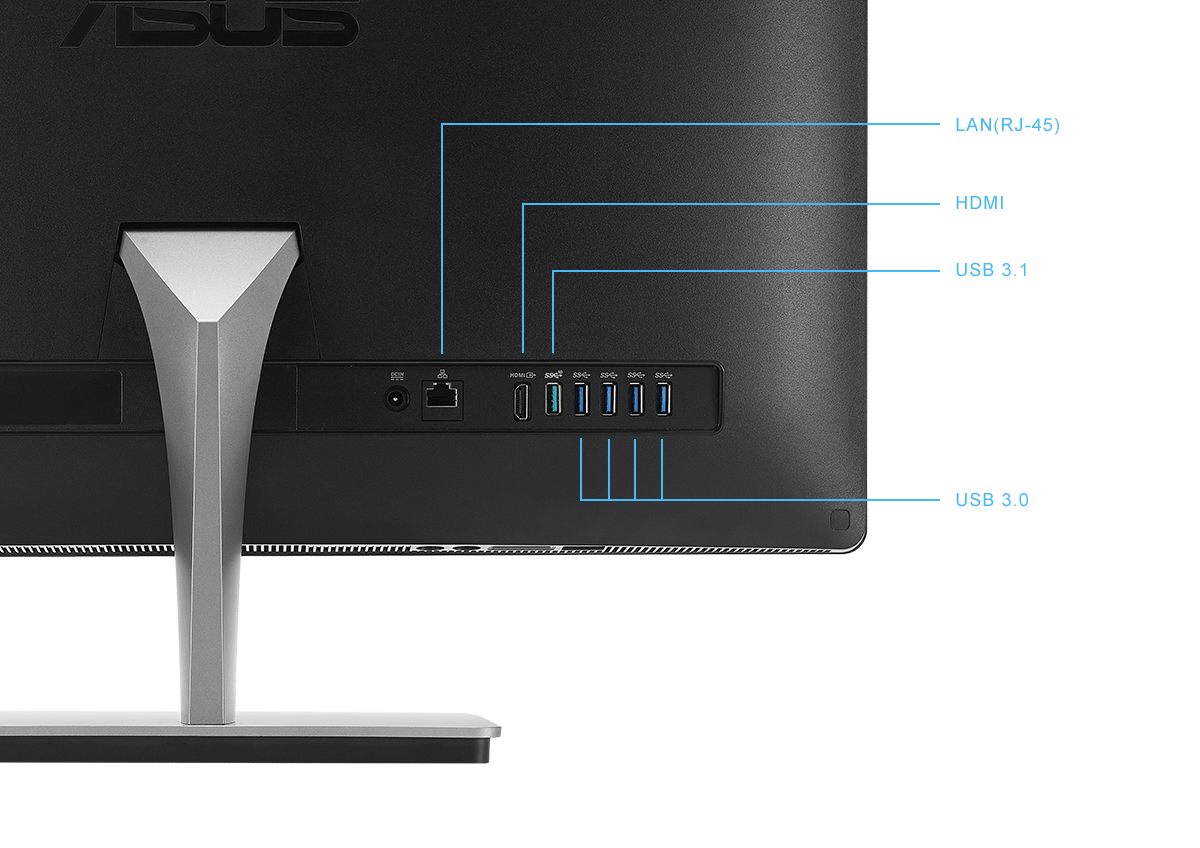Vivo AiO. USB