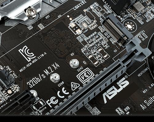 ASUS Z170M-E D3 BIOS firmware chip