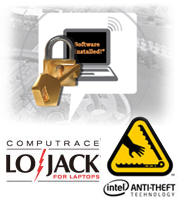 Keep data safe, plus trace and locate stolen notebooks