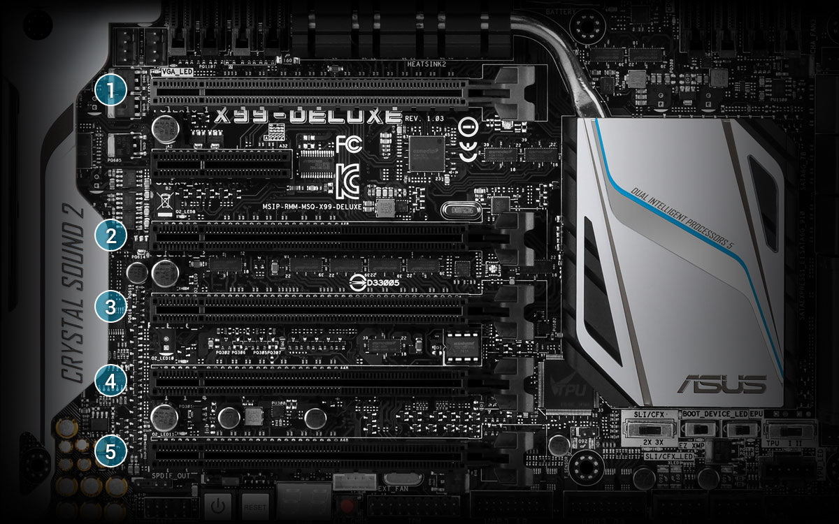 X99-DELUXE | Motherboards | ASUS Global
