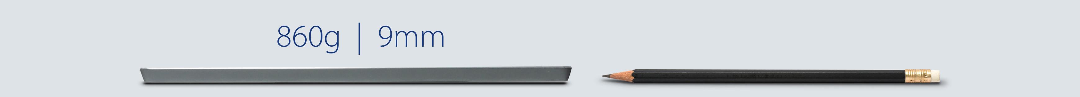 ASUS ZenScreen GO MB16AHP, design ultra-fin