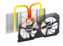 DirectCU II with SSU architecture: 20% cooler, 3X quieter