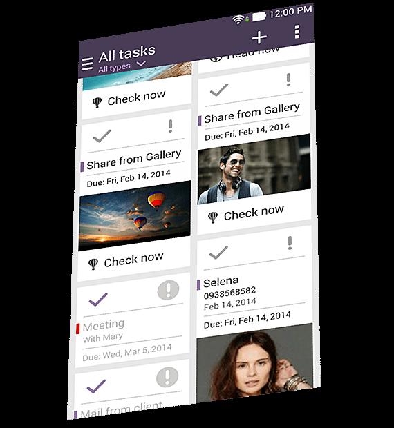 All Tasks screenshot