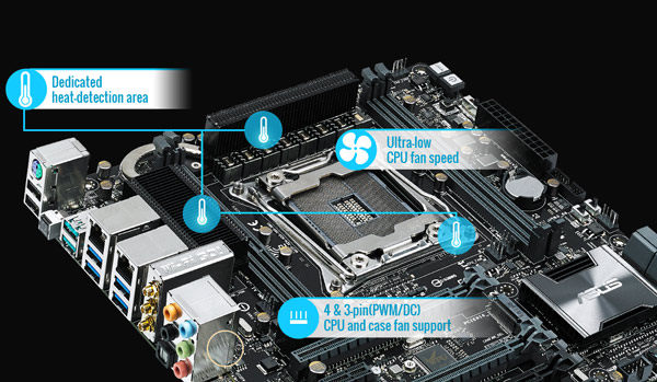 Asus X99-M WS The most-powerful X99 micro-ATX with USB 3.1 on board