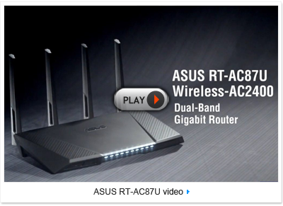 ASUS RT-AC87R intro video