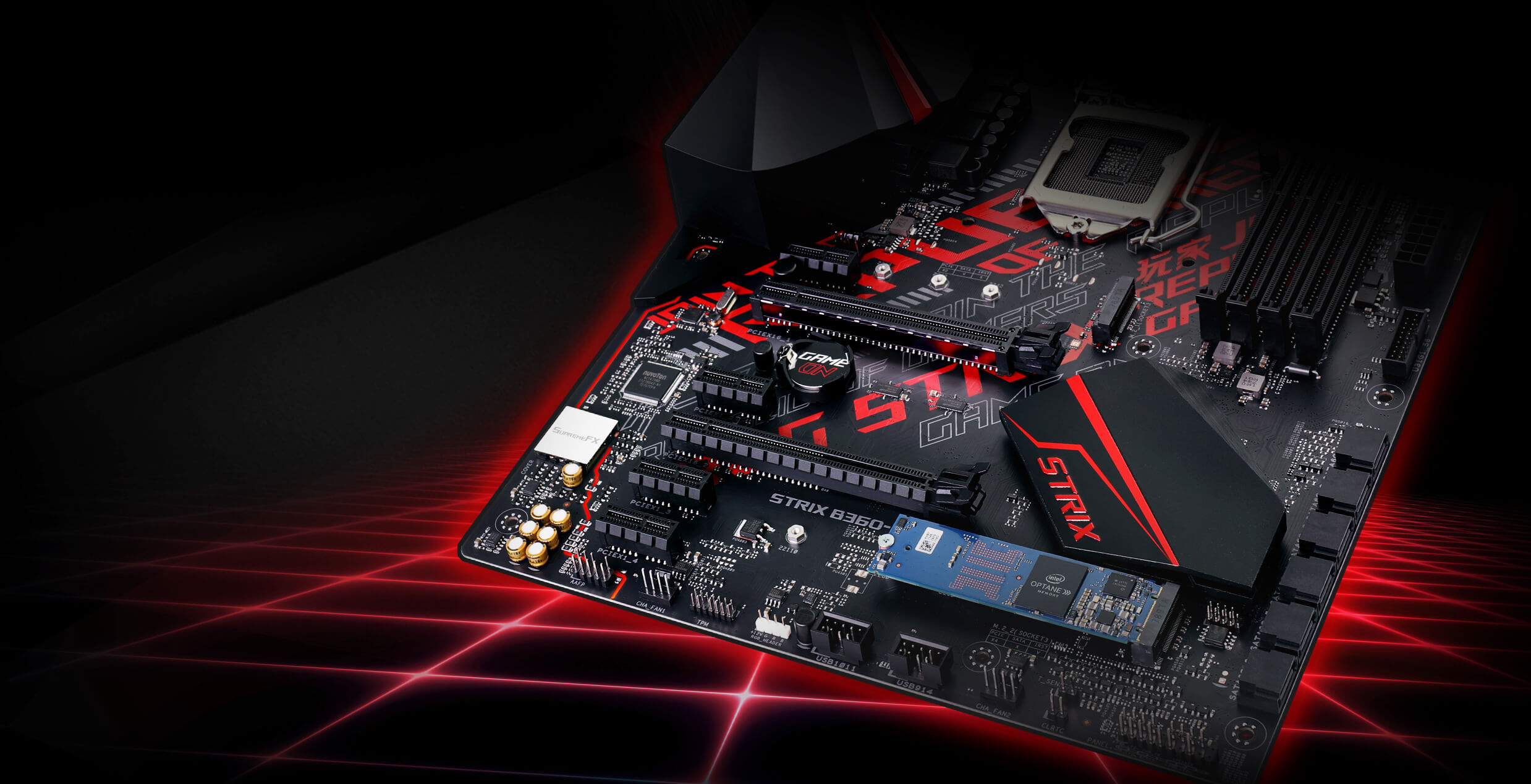 ROG STRIX B360-H GAMING/OPTANE | Motherboards | ASUS USA