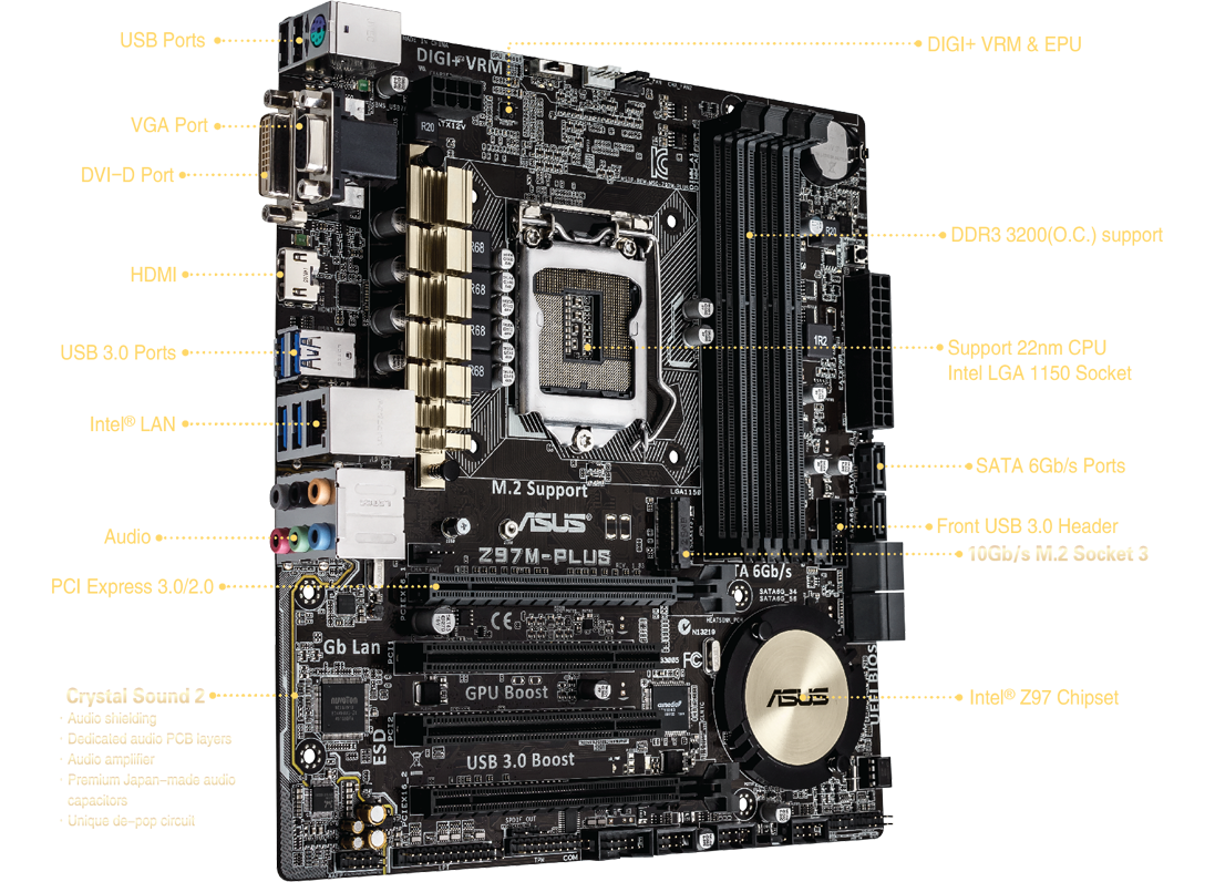 ASUS H97I-PLUS Realtek Audio Driver PC