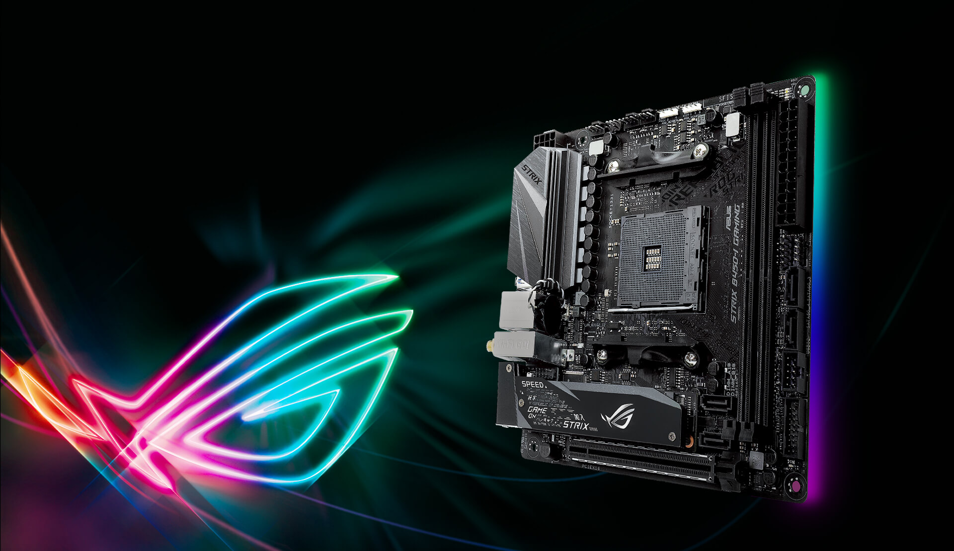 ASUS ROG STRIX B450-I GAMING | ROG - Republic Of Gamers | ASUS USA