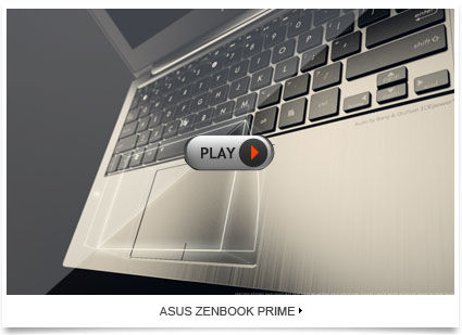 Now you can choose ZENBOOKTM Prime for the finest experience