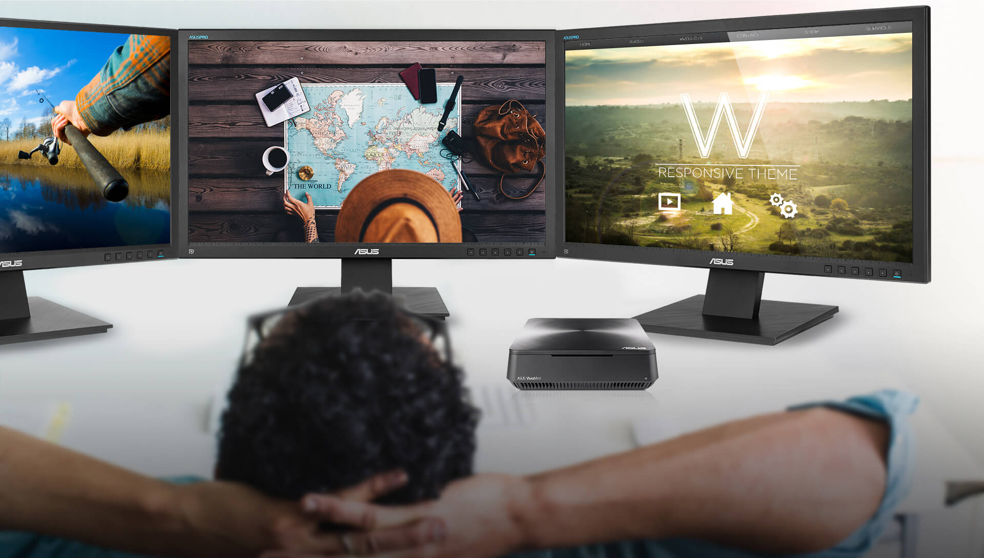 VivoMini VM45-Mini PC- vesa-mount- 4k uhd streaming