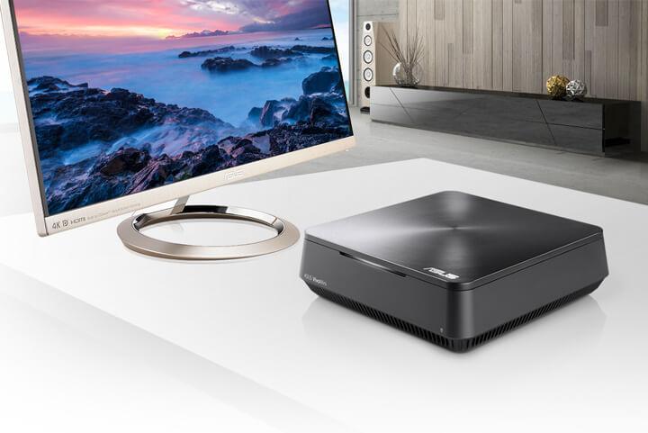 VivoMini VM45-Mini PC- windows 10- intel- sonicmaster- dual storage-4k uhd streaming
