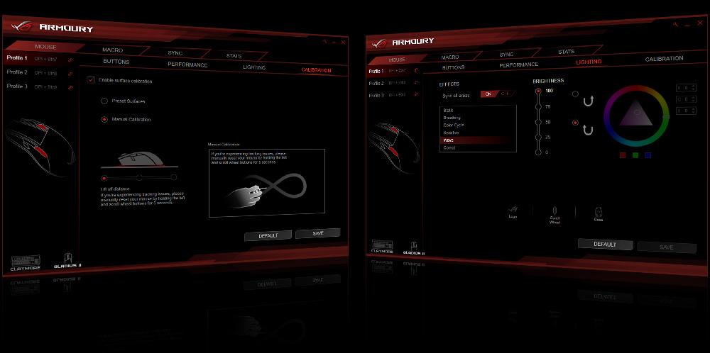 Resultado de imagen para Software ASUS Aura Sync y ROG Armory