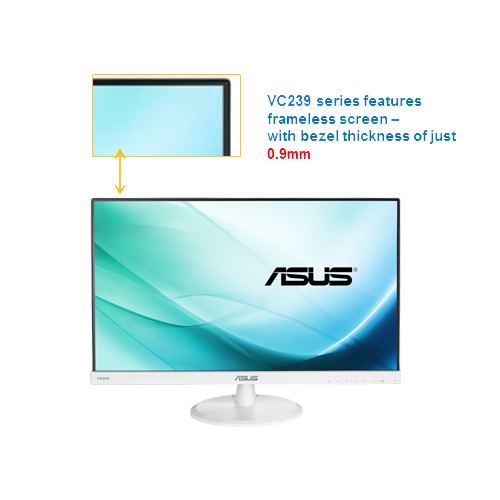 "ASUS VZ239H-W 23"" inch 16:9 IPS Monitor  Full HD"