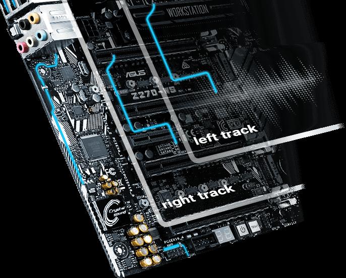 Asus Z270-WS LGA1151 DDR4 Display Port HDMI 4-Way SLI CrossfireX M.2 U.2 ATX Motherboard with Dual Gigabit LAN and USB 3.1 Z270-WS